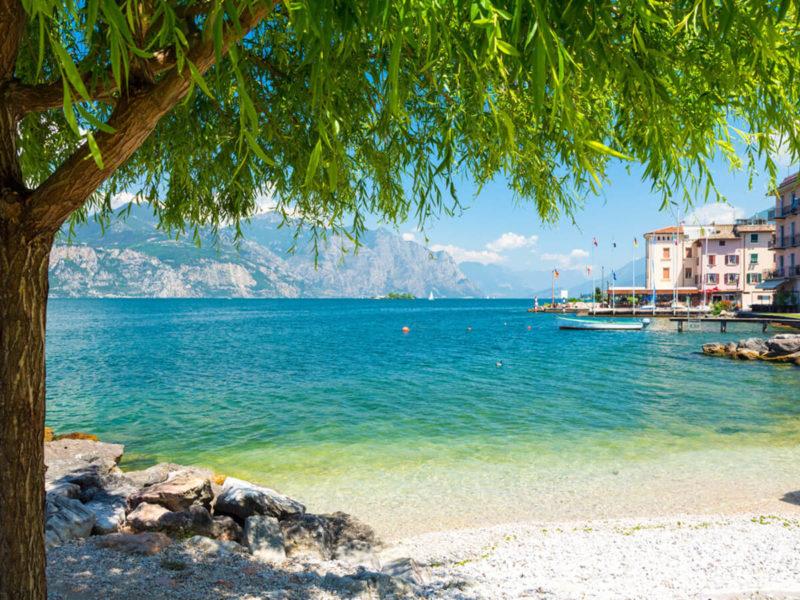 Premium Camping am Gardasee - dem größten See in Italien