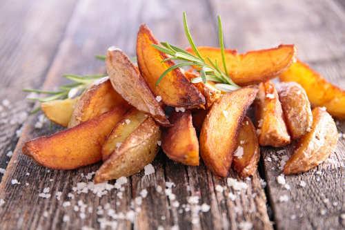 Grillrezepte Beilage: Kartoffelecken