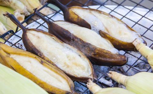 Grillrezepte: Schoko-Bananen