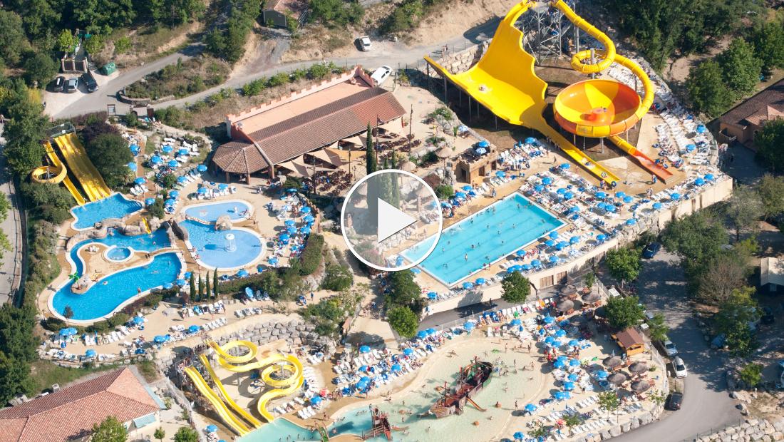 Premium Camping in Le Pommier: Der spektakulärste Wasserpark auf einem Camping Resort