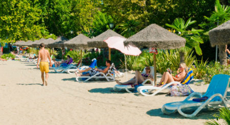 Premium Camping Cisano / San Vito am Gardasee in Italien