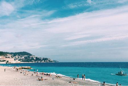 Côte d'Azur Strand