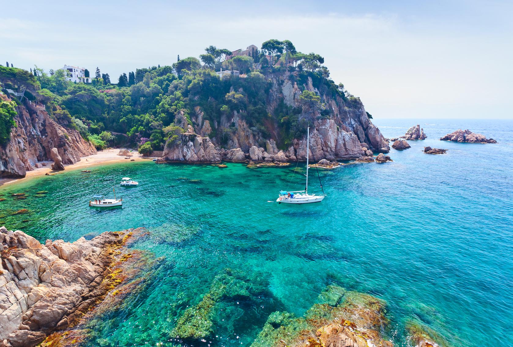 Küste Costa Brava, Spanien