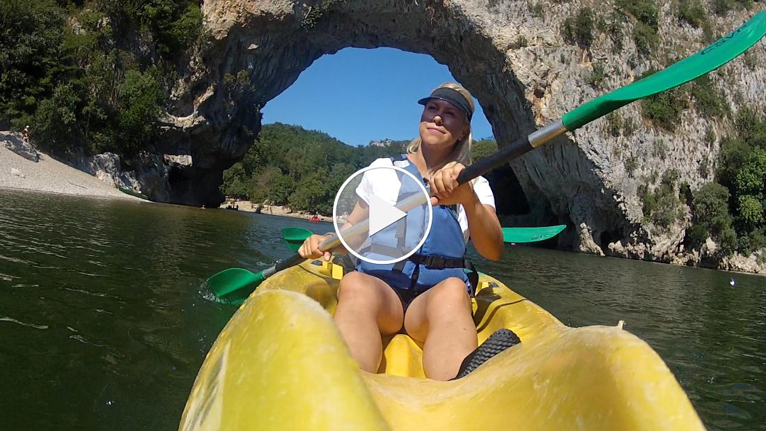 Premium Camping: Gorges de l'Ardèche - Die wohl schönste Kanutour Frankreichs