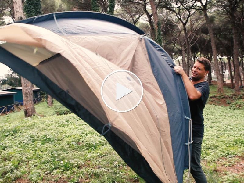 Premium Camping Zelttypen II: Allround-Talent unter den Zelten - das Kuppelzelt