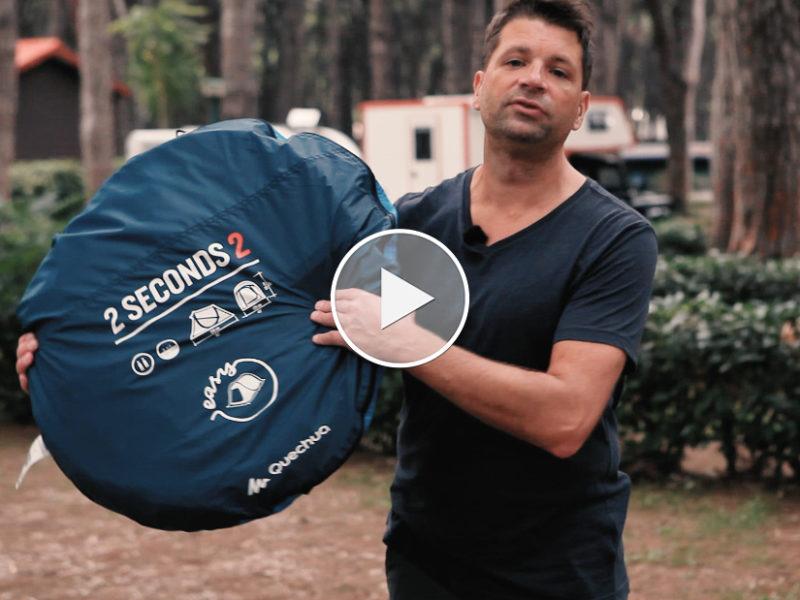 Premium Camping - Zelttypen I: Eine echte Innovation auf dem Campingmarkt - das Wurfzelt