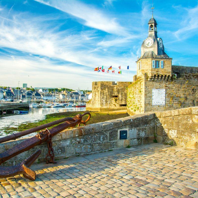 Concarneau in der Bretagne