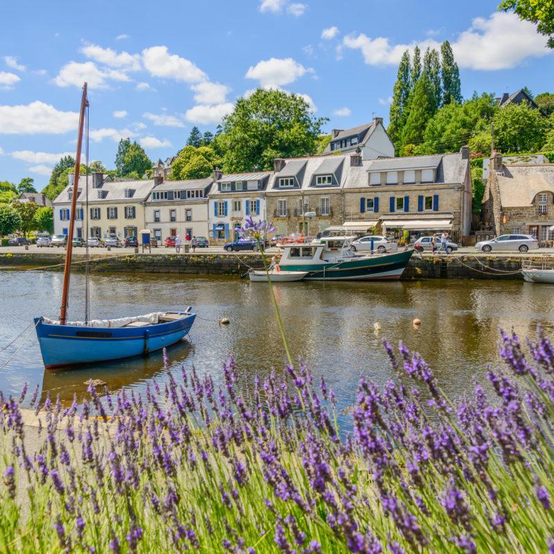 Künsterstädtchen Pont-Aven in der Bretagne