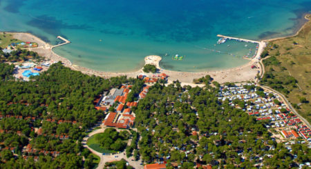Premium Camping in Kroatien: Camping Zaton Holiday Resort in Dalmatien