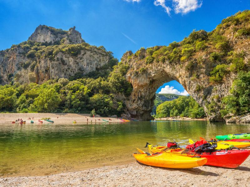 Premium Camping an der Ardèche