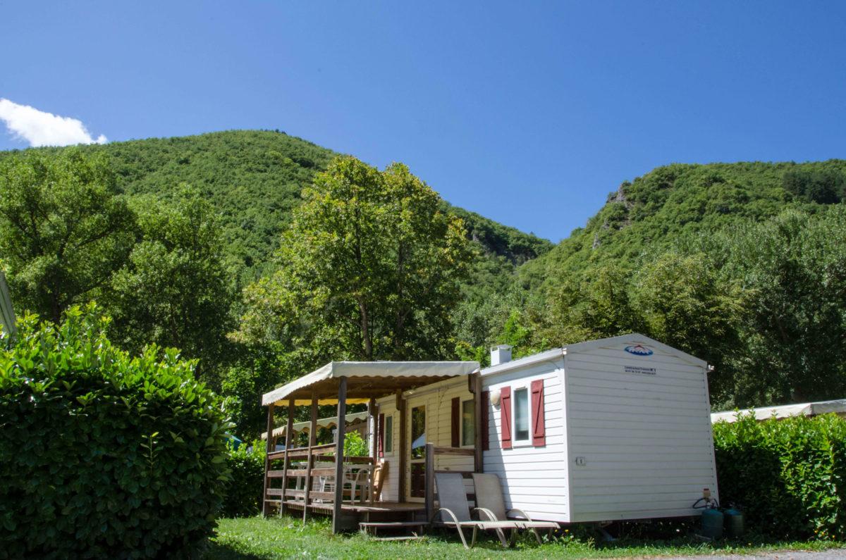 Premium Camping in der Provence: Camping Les Eaux Chaudes