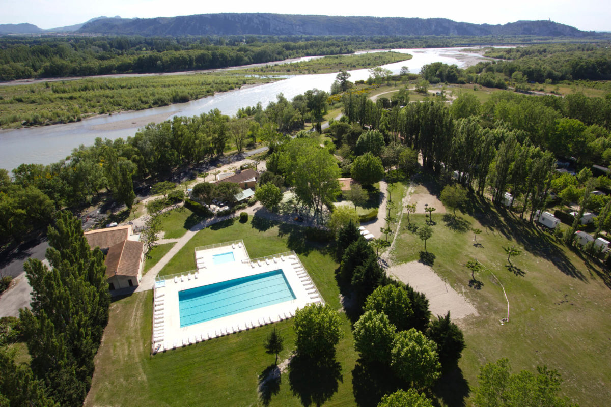 Premium Camping in der Provence: Camping Les Rives du Luberon