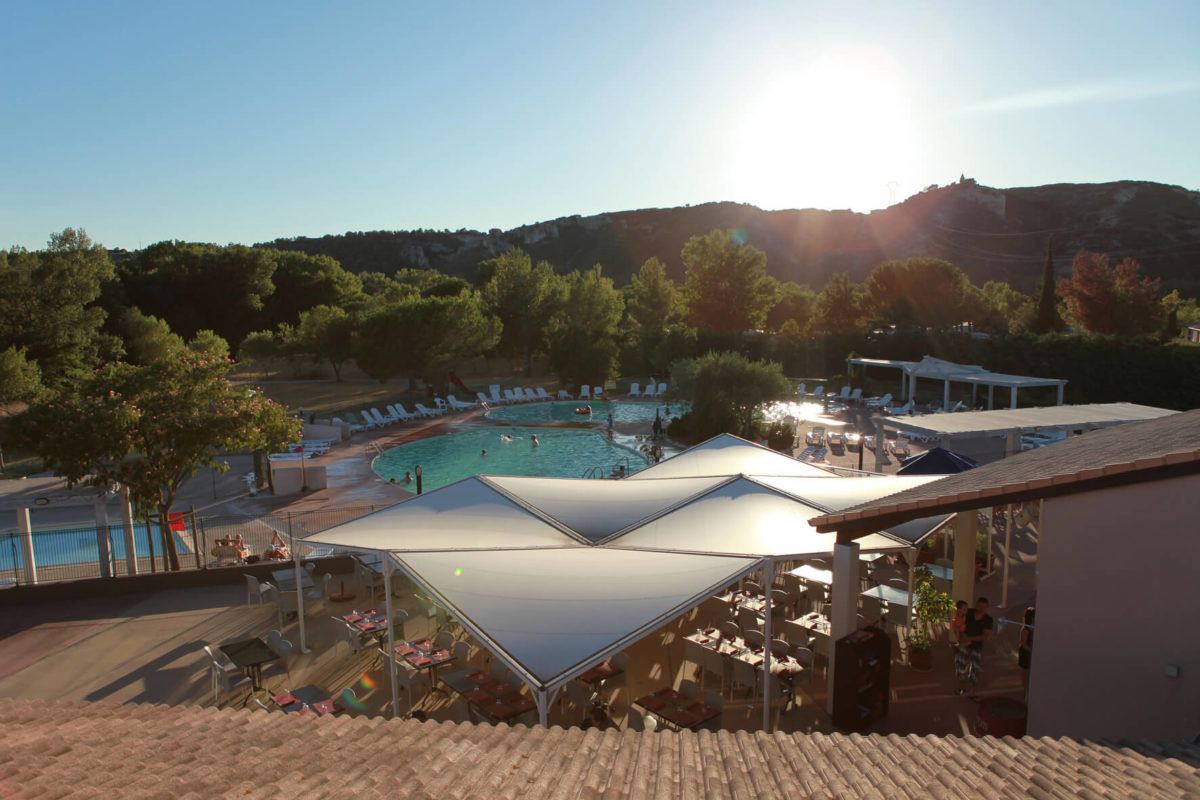 Premium Camping in der Provence: Camping L Ile des Papes