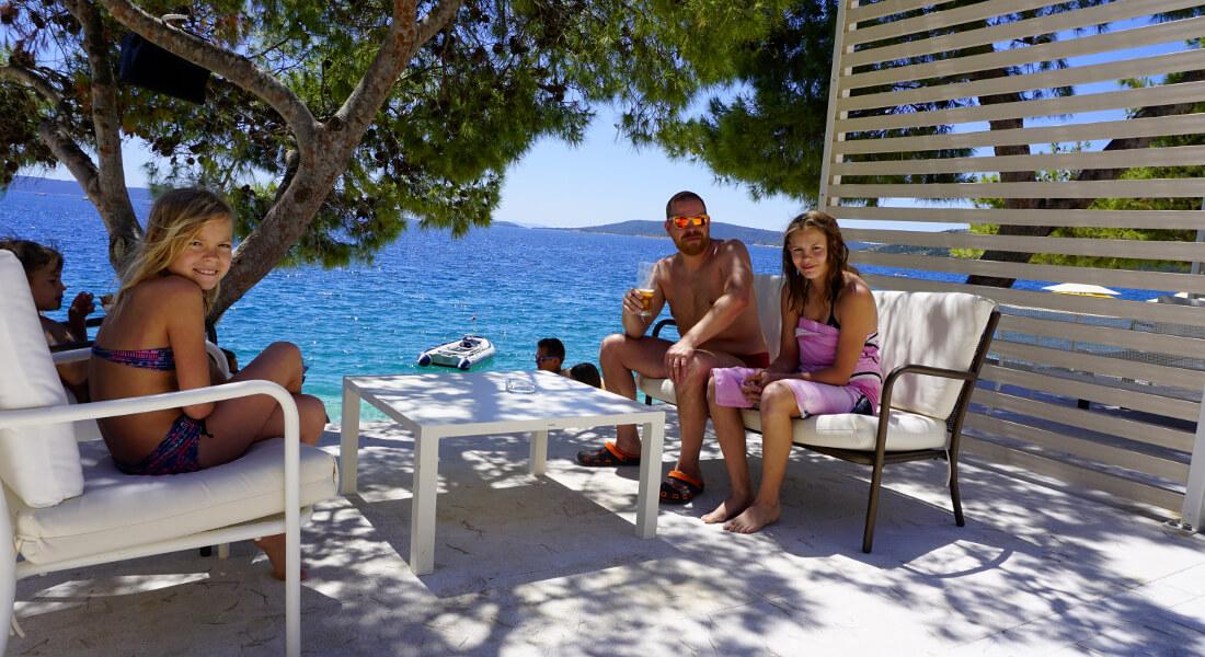 Urlaub in Kroatien: Familie Schmittner im Ferienparadies