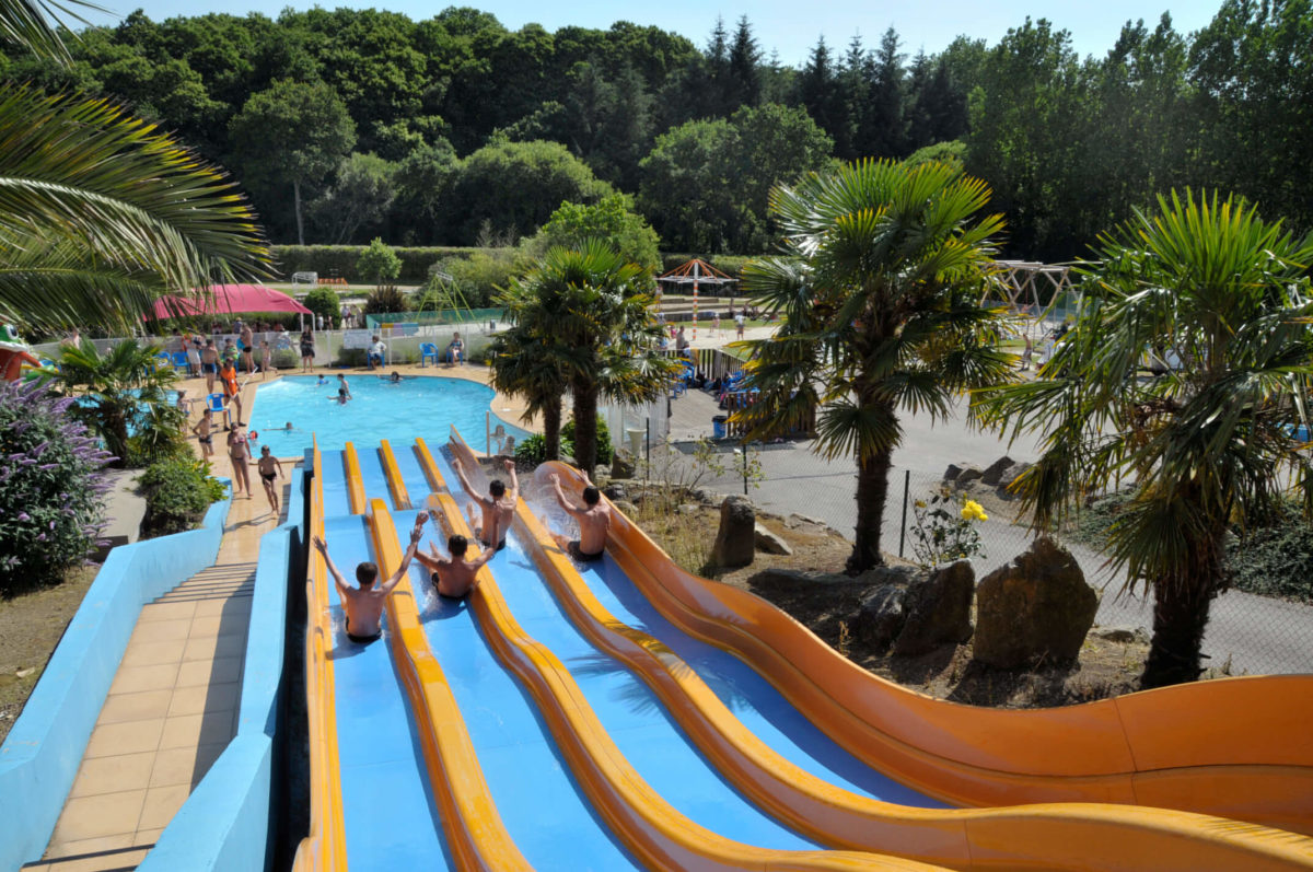 Premium Camping in der Bretagne: Camping Domaine de Bel Air