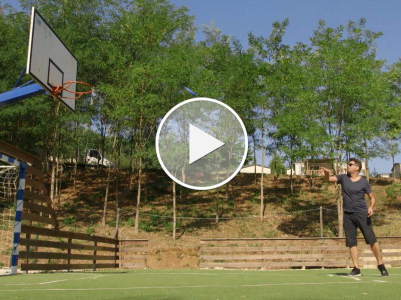 HOW TO: Der neue Urlaubssport heißt Frisbee Basketball - jetzt auf Premium Camping