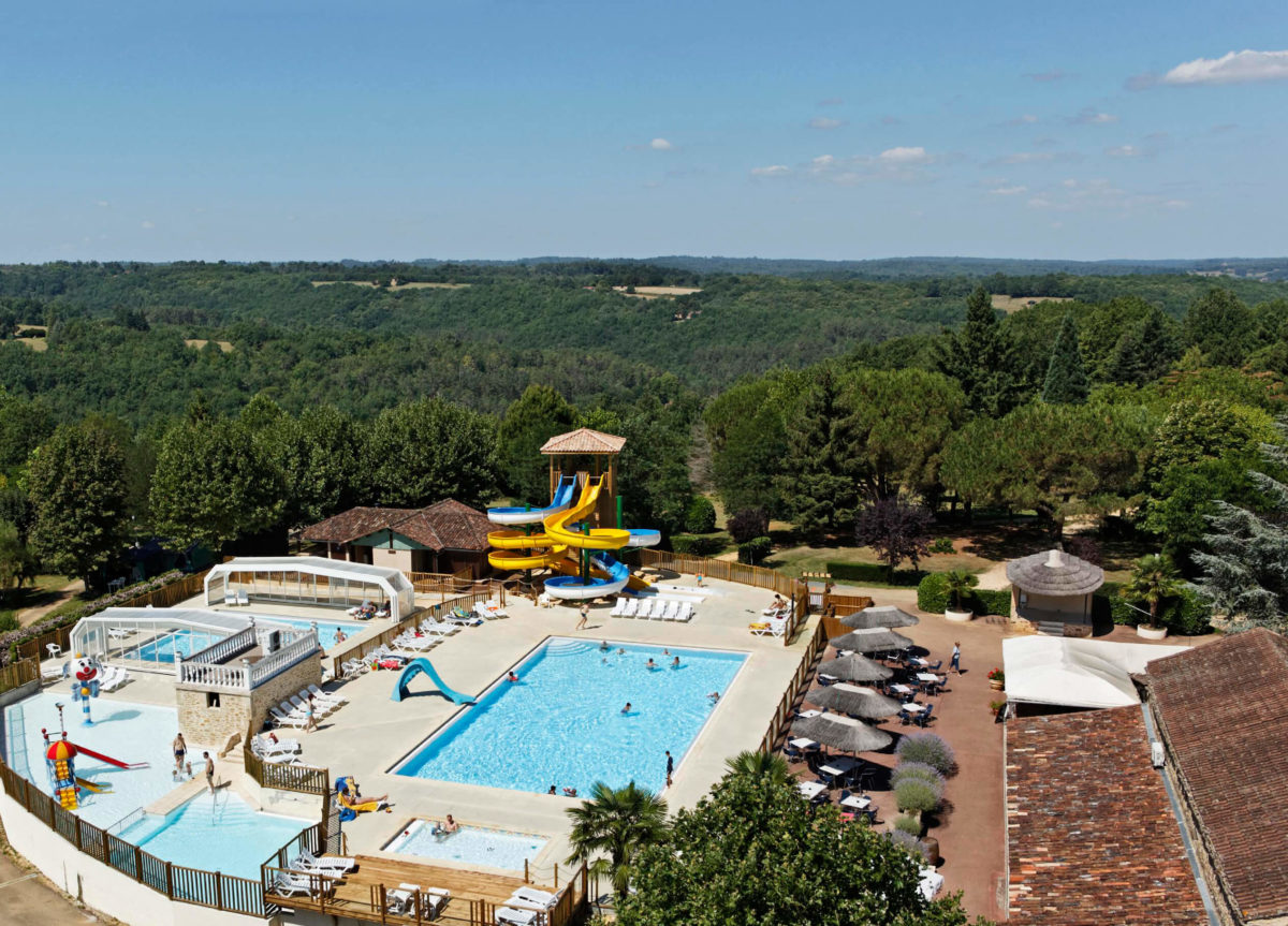 Premium Camping in der Dordogne: Camping Les Hauts de Ratebout