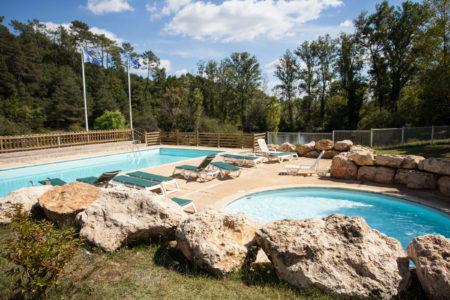 Premium Camping in der Dordogne: Camping Le Val d'Ussel