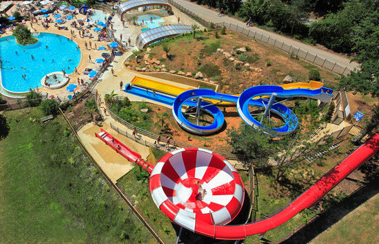 Premium Camping in der Dordogne: Camping Le Moulinal