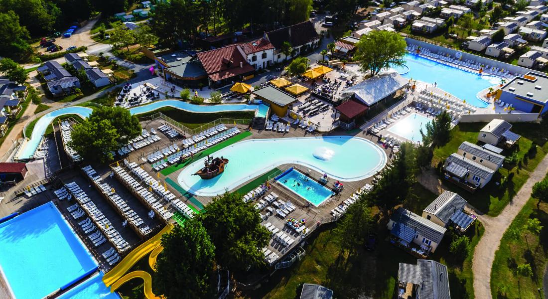 Premium Camping in der Dordogne: Camping Iris Parc Le Grand Dague