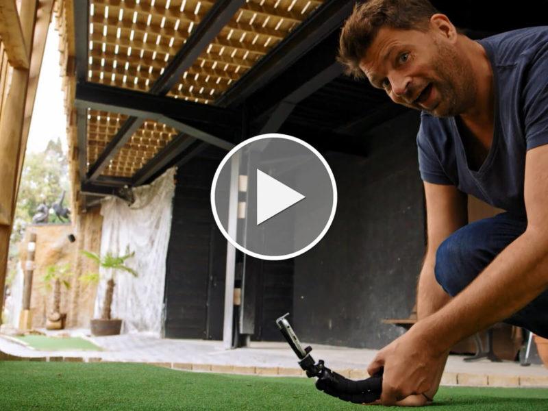 How to Videotutorial: Minigolf Action Movie drehen