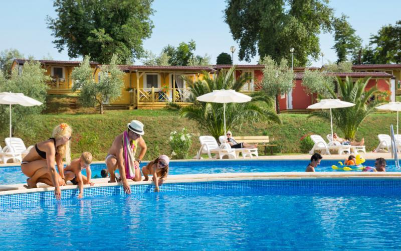 Premium Camping in Kroatien: Camping Aminess Park Mareda in Istrien