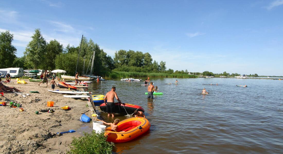 Premium Camping in Holland: Camping Bergumermeer in Friesland