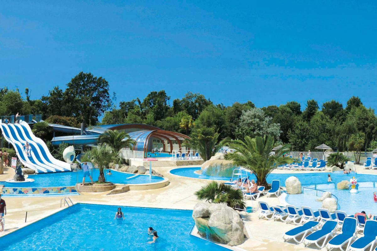 Premium Camping in Frankreich: Camping Les 2 Fontaines in der Bretagne