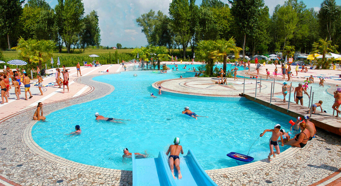 Premium Camping in Caorle: Camping Laguna Village in Italien