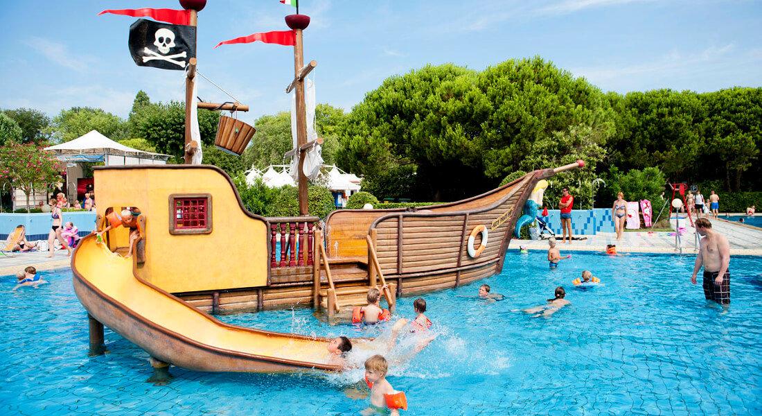 Premium Camping in Italien: Camping Ca Savio an der Adriatische Küste