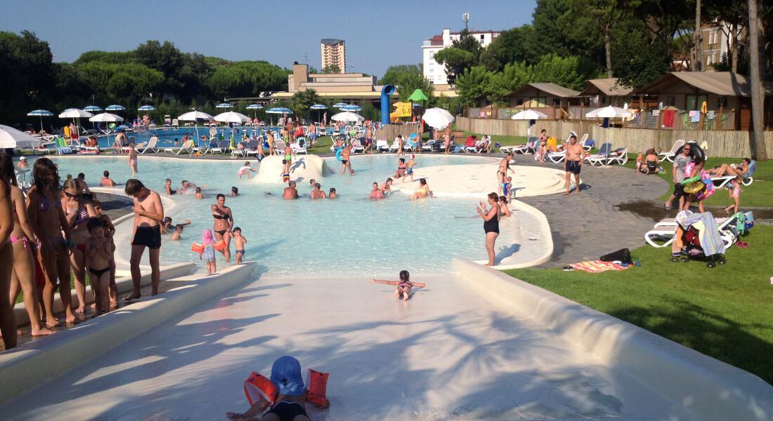 Premium Camping in Italien: Camping Malibu Beach an der Adria