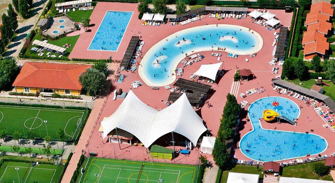 Premium Camping in Italien: Camping Barricata an der Adria