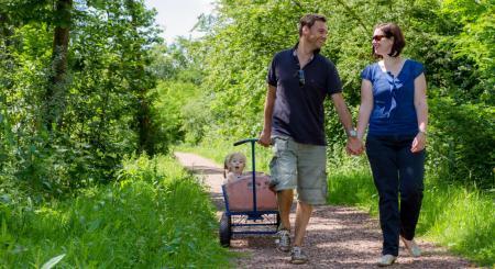 Premium Camping in Holland: Vakantiepark Kijkduin an der Küste