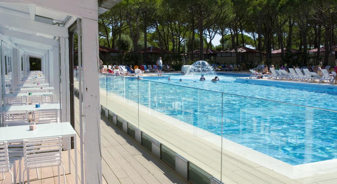 Premium Camping in Italien: Jesolo Camping Village an der Adria