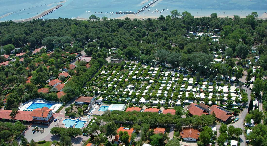 Premium Camping in Italien: Camping Punta Spin an der Adria