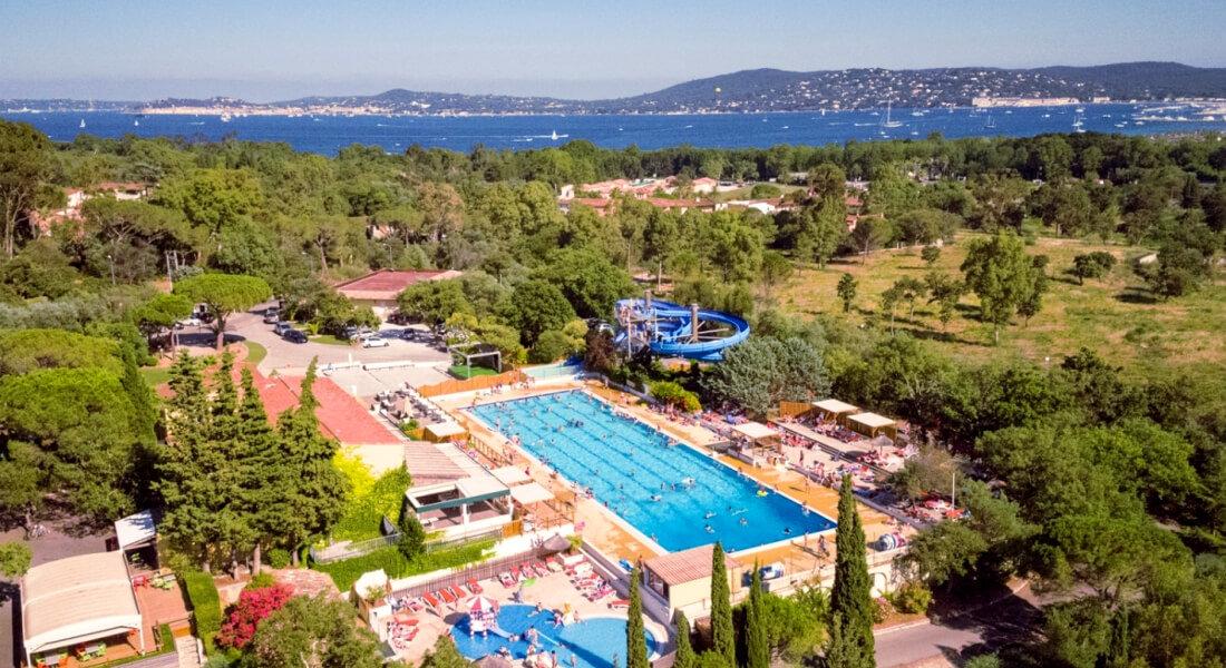 Premium Camping an der Côte d'Azur: Camping Domaine des Naïades