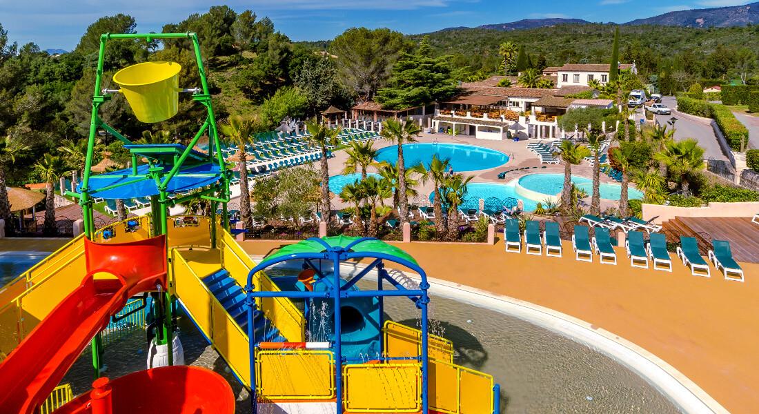 Premium Camping an der Côte d'Azur: Camping Esterel