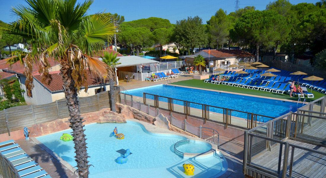 Premium Camping an der Côte d'Azur: Camping La Bastiane