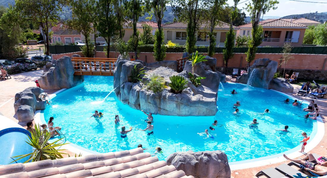 Premium Camping an der Côte d'Azur: Camping Saint Louis