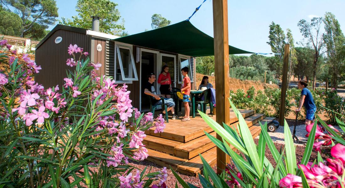 Premium Camping an der Côte d'Azur: Camping Domaine de Verdagne