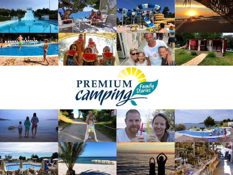 Premium Camping Family Stories Startseite Collage