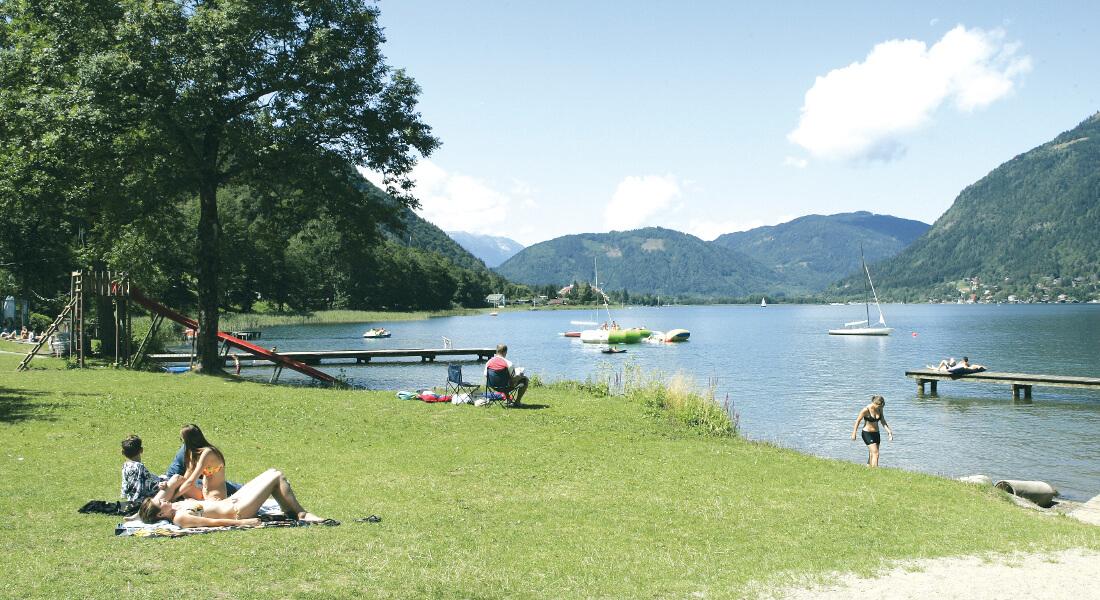 Terassencamping Ossiacher See - premiumcamping.de