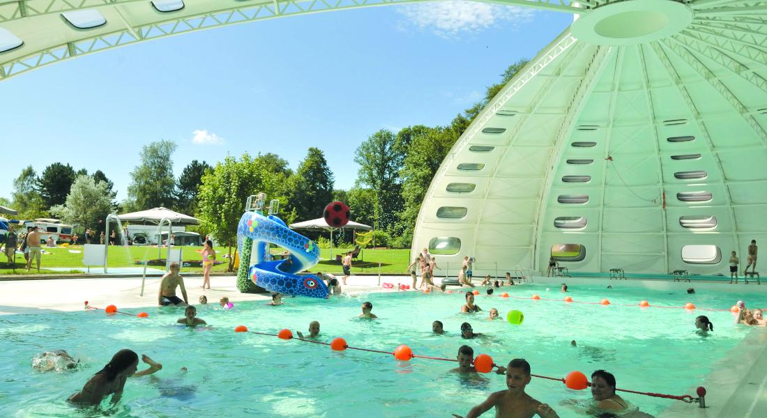 Premium Camping in Luxemburg: Iris Parc Birkelt in Larochette - Premiumcamping.de